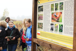 Súčasťou veľkého cezhraničného projektu je aj propagácia rašeliniska.