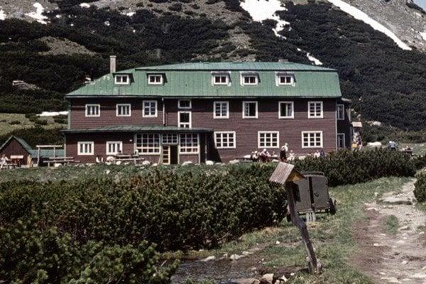 Bývalá Kežmarská chata pri Veľkom Bielom plese.