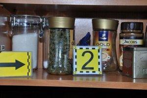 Marihuanu mal Tepličan schovanú vo fľaške od kávy.