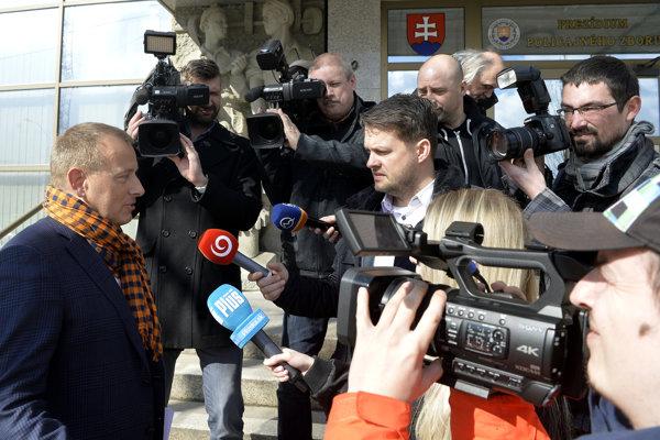 Líder strany Sme rodina Boris Kollár.