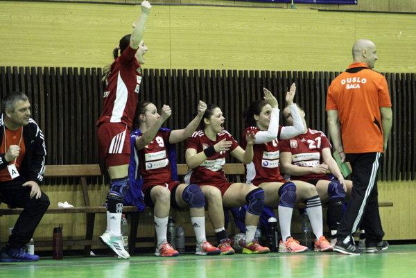 Hádzanárky Šale v Olomouci natiahli víťaznú sériu v kalendárnom roku 2017.