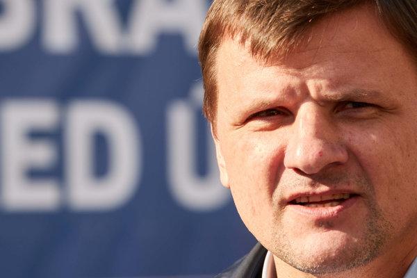 Predseda KDH Alojz Hlina.