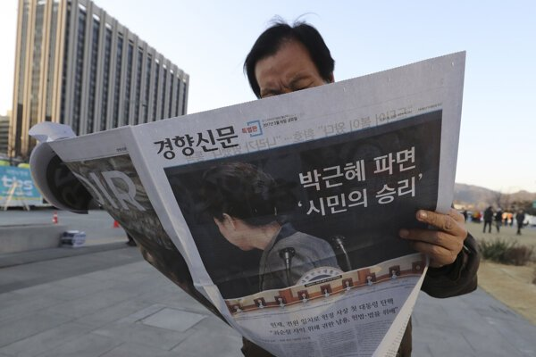 Južná Kórea hľadá nového prezidenta.