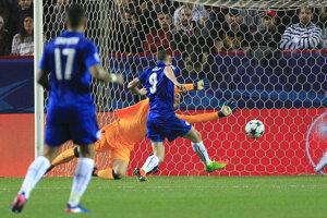 Leicester City v prvom zápase proti Seville prehral 1:2. Jediný gól anglického majstra strelil Jamie Vardy.