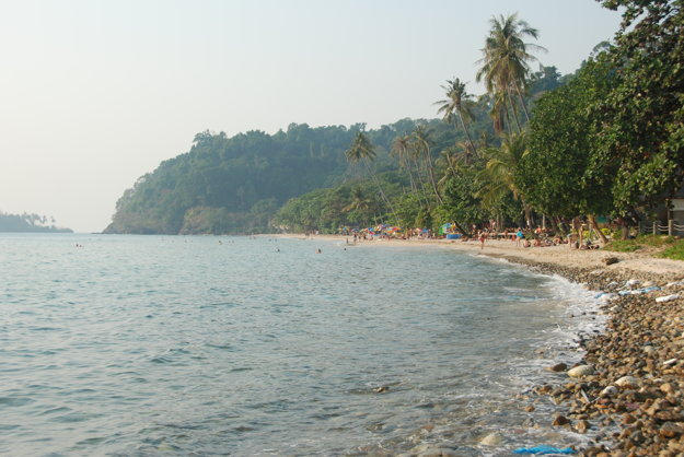 Lonely Beach na ostrove Ko Chang