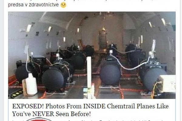 Chemtrails sú hoax.