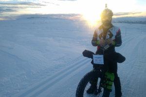 Štefan Chmel je prvým Slovákom, ktorý chce absolvovať najťažší zimný ultramaratón na Aljaške - Iditarod Trail Invitational.