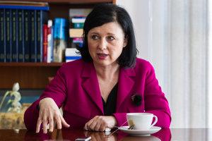 Eurokomisárska pre spravodlivosť Věra Jourová v rozhovore pre SME.
