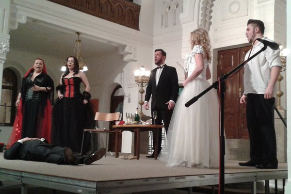 Na otváracom koncerte zaznel prierez operou Wolfganga Amadea Mozarta Don Giovanni.