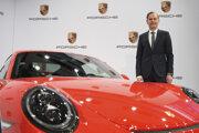 Oliver Blume, riaditeľ spoločnosti Dr. Ing. Hc F. Porsche AG.