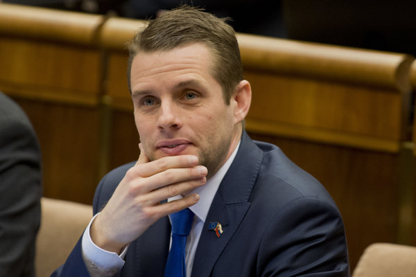 Opozičný poslanec Martin Klus.