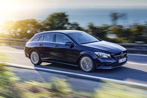 Mercedes-Benz CLA (na obrázku verzia Shooting Brake).