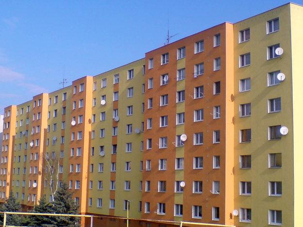 Bytový dom na ul. Federátov 8–16 v Prešove.
