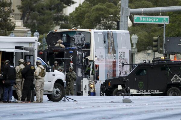 Ozbrojenec útočil v Las Vegas.