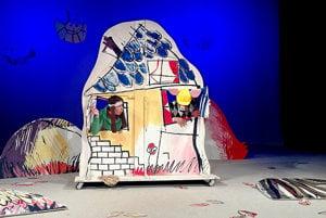 Jedno z predstavení Spišského divadla pre detského diváka.