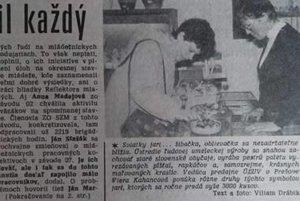 Zo starých Prešovských novín.
