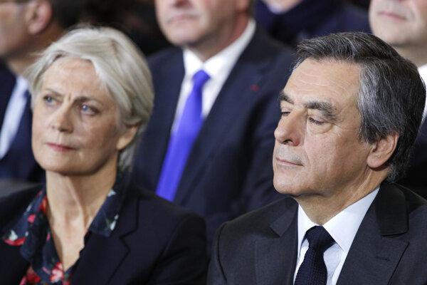 Penolope Fillonová s manželom Francoisom.