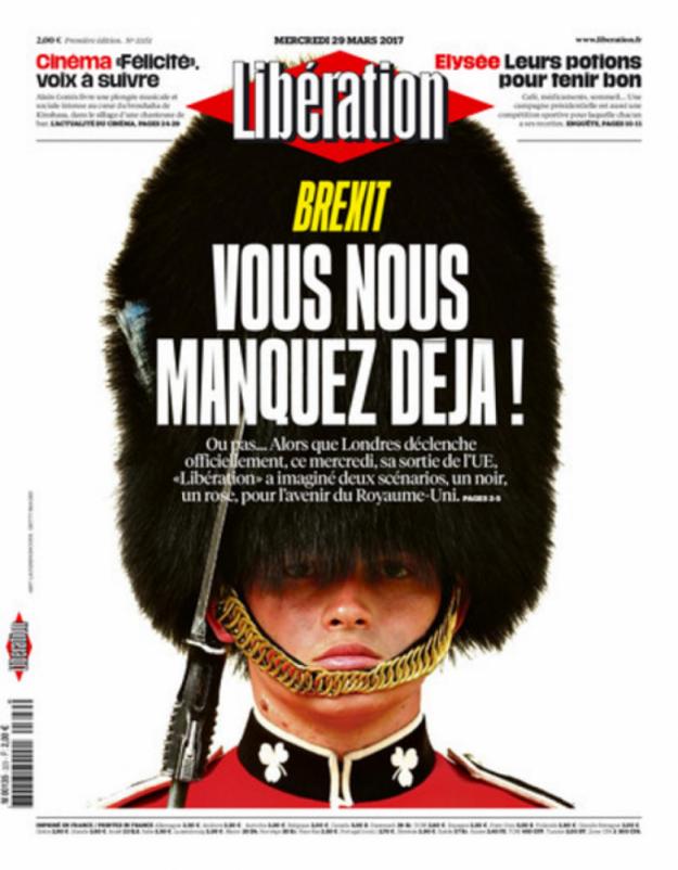 Už teraz nám chýbaš, napísal francúzsky denník Libération.