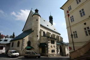 Kostol sv. Kataríny.