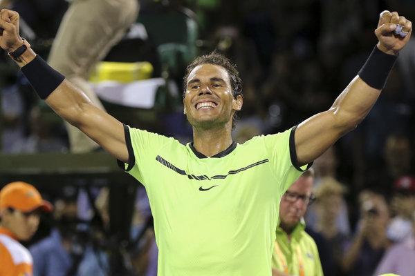 Rafael Nadal bude po troch rokoch opäť svetovou jednotkou.