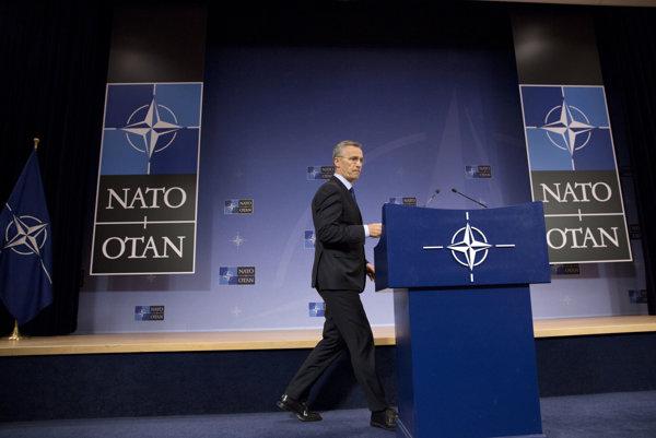 enerálny tajomník NATO Jens Stoltenberg.