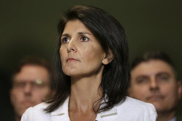 Nikki Haleyová, veľvyslankyňa USA pri OSN