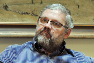 Riaditeľ Múzea SNP Stanislav Mičev.