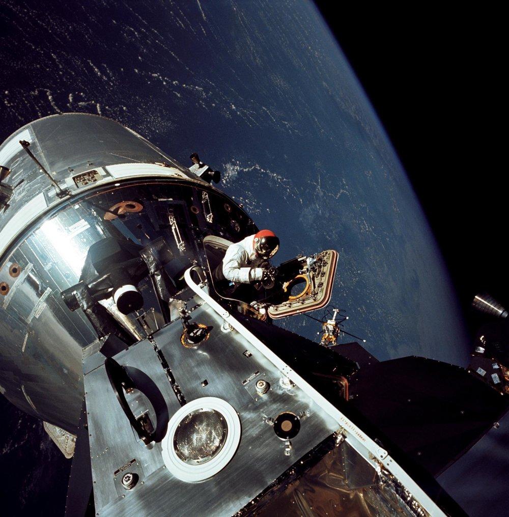 Vesmírna loď Apollo 9.