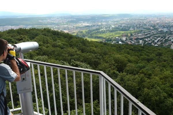 Mestský lesopark na kopci Hradová.