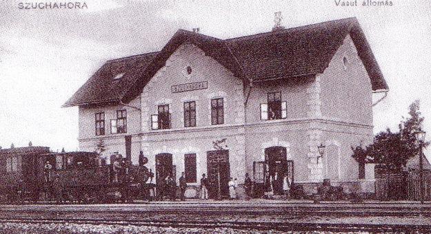 Niekdajší vzhľad stanice v Suchej Hore.