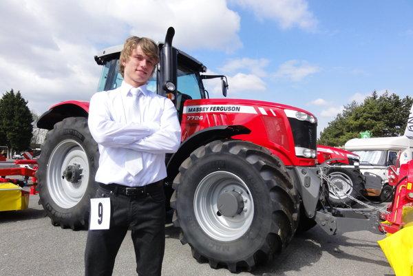 Richard Vodný (20), finalista súťaže. K pestovaniu plodín má vzťah odmalička.