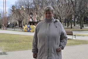 Pani Vasiľová zo Starej Ľubovne.