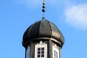 Minaret na severe Poľska.