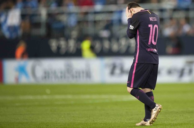 Barcelona v Malage nedokázala skórovať.