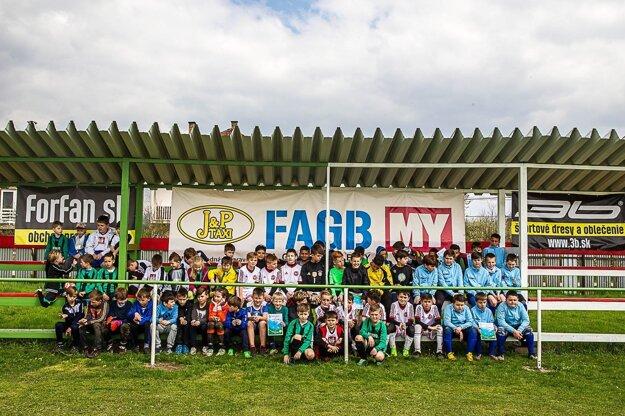 Účastníci FAGB Minilligy.