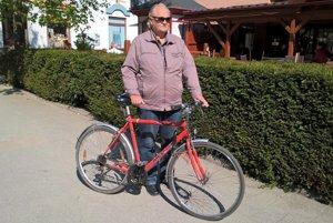 Eugen Menke ajeho ekologický dopravný prostriedok.