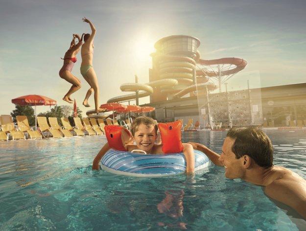 V Lutzmannsburg si vodnú zábavu užijú malí aj veľkí.