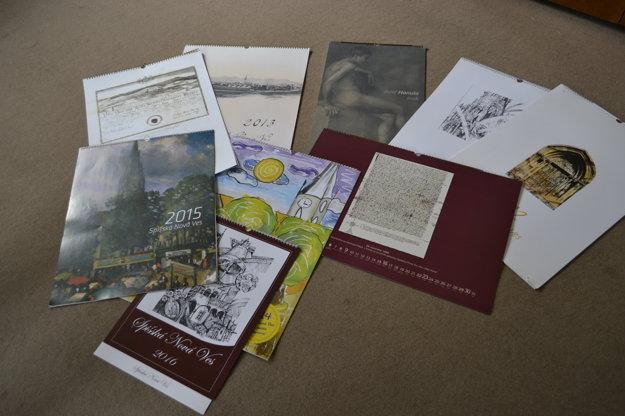 Kalendáre Spišskej Novej Vsi už získali šesť cien.