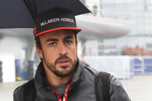 Fernando Alonso počas víkendu v Číne.