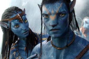 Neytiri a Jake z filmu Avatar.