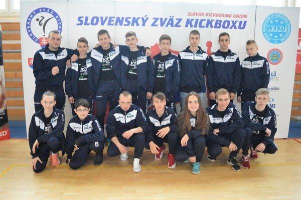 Michalovský ŠKK sa vPrešove predstavil vpočetnej zostave.