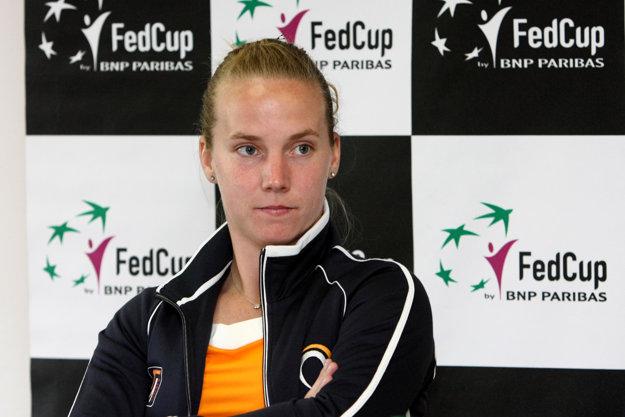 Richel Hogenkampová nebola prekvapená, keď Cibulková oznámila, že nastúpi.