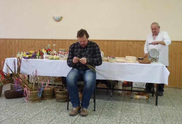 V Zborove nad Bystricou vystavovali veľkonočné výrobky.