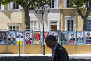 Francúzske prezidentské voľby.