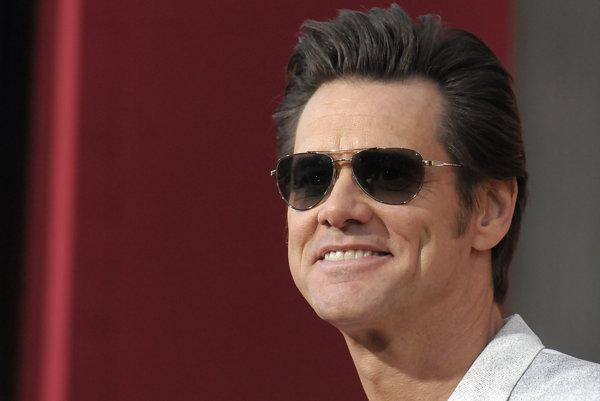 Jim Carrey v lepších časoch v roku 2013.