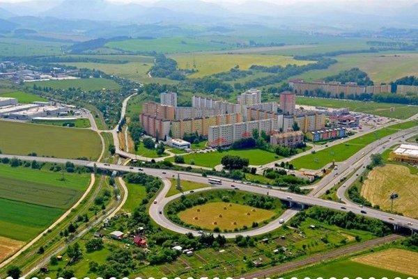 Sídlisko Košúty.