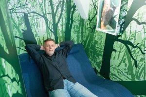 Igor Stahl, vedúci návštevníckeho centra rakúskeho Národného parku Dunajské luhy