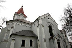 Kostol sv. Vavrinca.