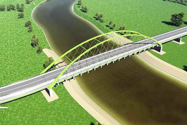 Takto by podľa Poliakov mohol vyzerať nový most.