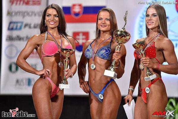 Elena Masaryková (v strede) obhájila prvenstvo z predchádzajúcich ročníkov.